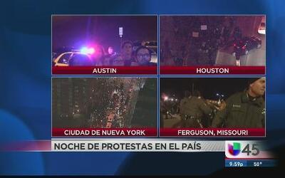 Miles protestan por el caso de Michael Brown