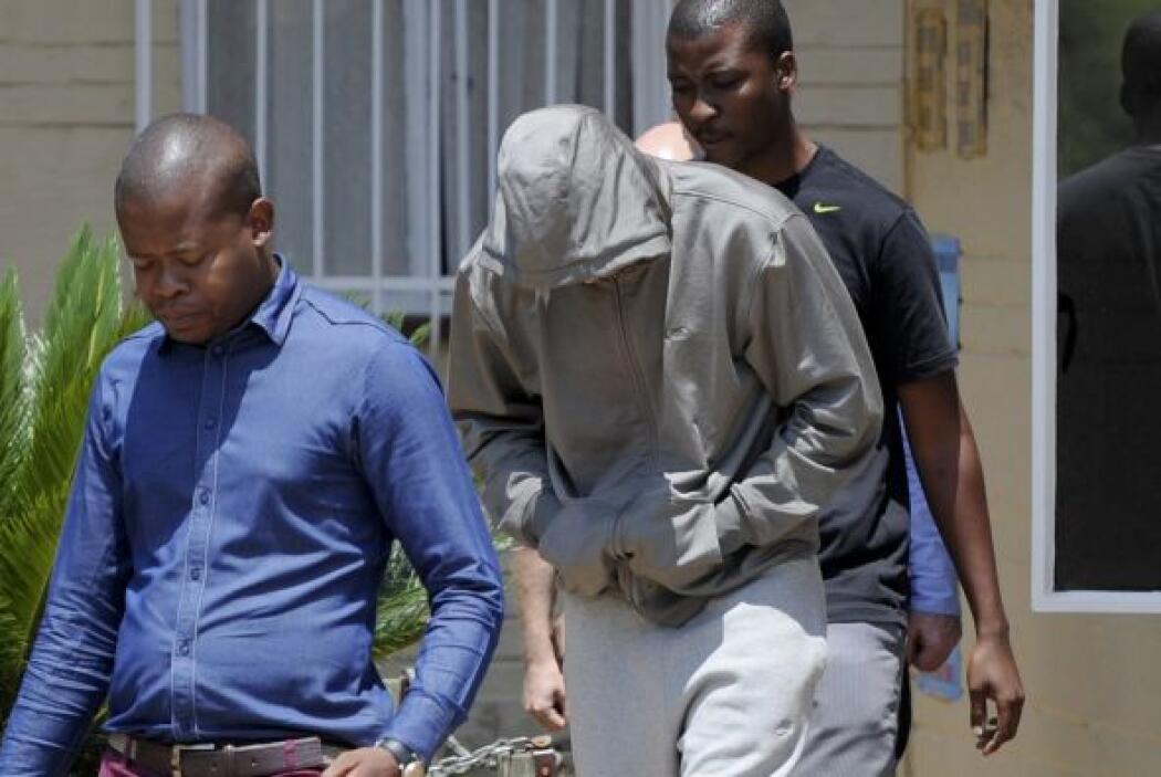 La portavoz de la Policía, Katlego Mogale, confirmó la acusación y desmi...