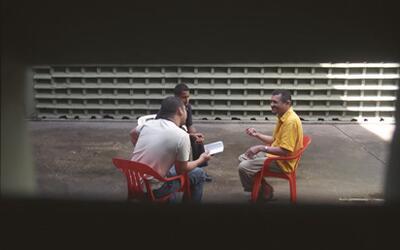 El periodista Sinar Alvarado pudo entrevistar en varias ocasiones a Dora...