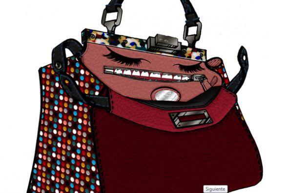 Este primer modelo es de la cantante Adele. (Imagen de Fendi).