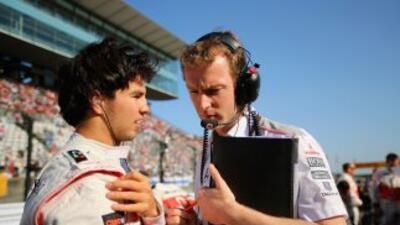El 'Checo' terminóen decimoquinto lugar en el GP de Japón.