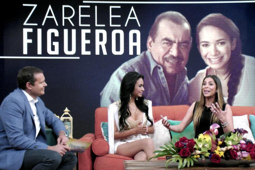 Zarelea Figueroa presentó su sencillo 'El monstruo' en Despierta...