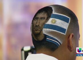Rob The Original, el barbero del Mundial
