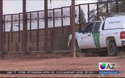 Agente fronterizo dispara hacia México