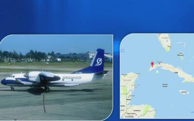 Avión de la compañía cubana Aerogaviota se estrella en una zona de Pinar...