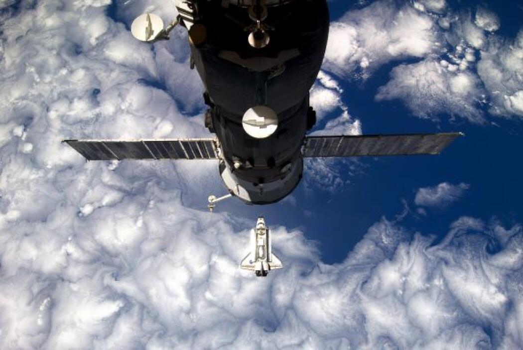 La puesta en órbita del Hubble en 1990, el primer telescopio espacial qu...