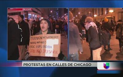 Masiva protesta por Eric Garner paraliza a Chicago