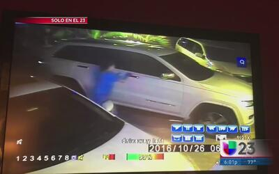 Captan en cámara una ola de robos provocada presuntamente por un grupo d...