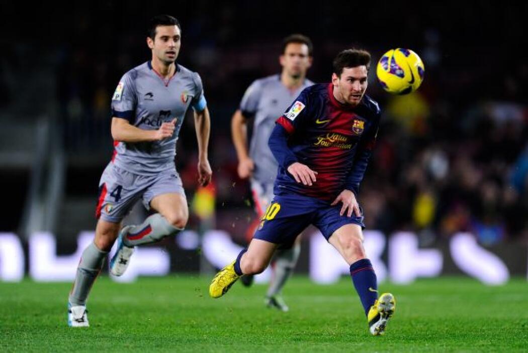 Barcelona jugó como local en la fecha 21 de la Liga española, recibiendo...