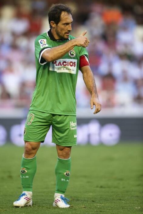 Pedro Munitis se despidió del fútbol profesional en mayo pasado con el R...