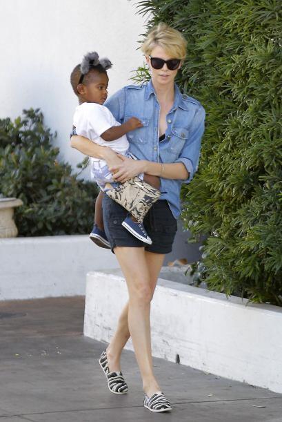 La actriz y modelo sudafricana Charlize Theron podrá dejar de hacer much...