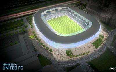Así sería el futuro estadio de Minnesota United FC