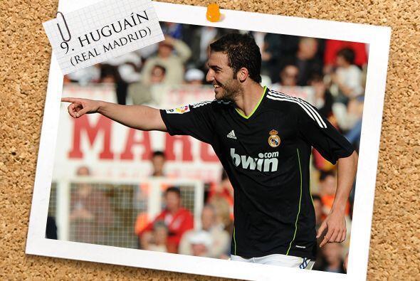 El ataque inicia con el argentino Gonzalo Higuaín.