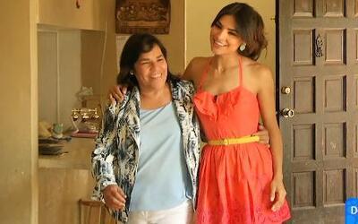 Alejandra Espinoza entrevistó a su mamá