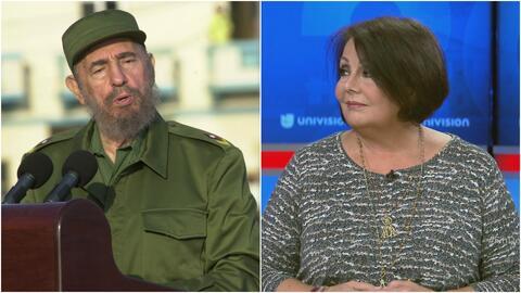 Periodista Ninoska Pérez Castellón dice que la muerte de Fidel Castro no...