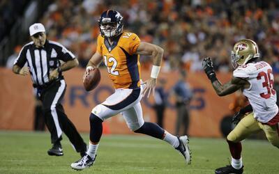 ¿Cómo lo hizo el novato quarterback de los Broncos?