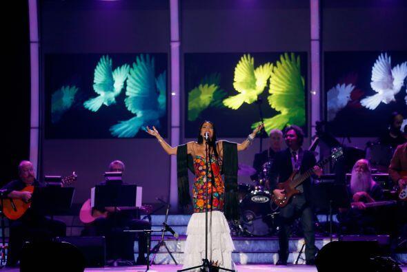 El folclor y la música mexicana estuvieron bien representados por Lila D...