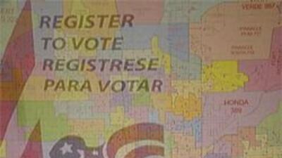 Mapa electoral del estado de Arizona