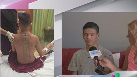 Adiel Burgos se recupera de delicada operación