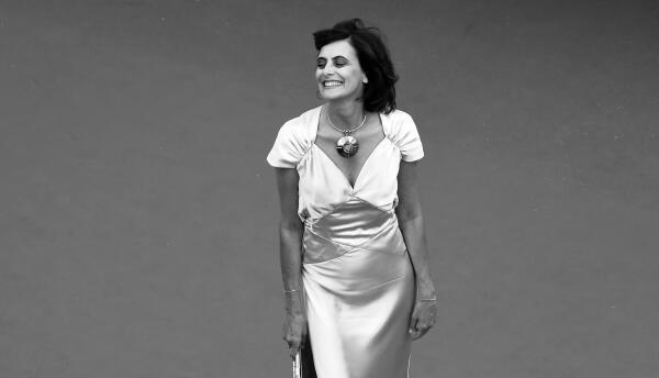 Ines de la Fressange en el Festival de Cannes