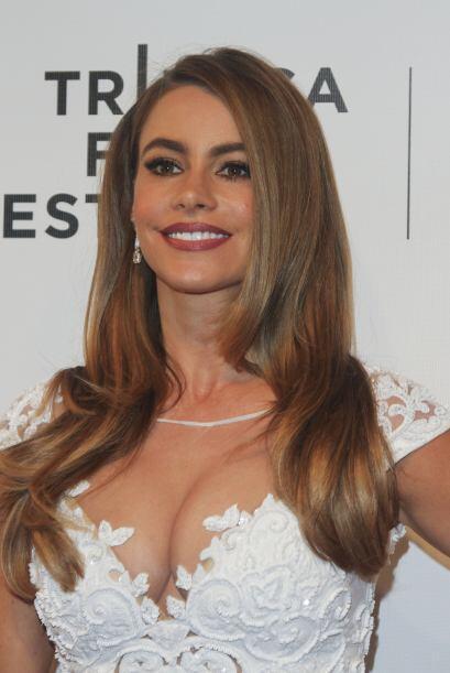La actriz se presentó en el Festival de Cine de Tribeca, donde la...