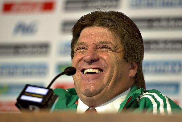 El entrenador del Tricolor, Miguel Herrera, hace un recuento del 2013 qu...