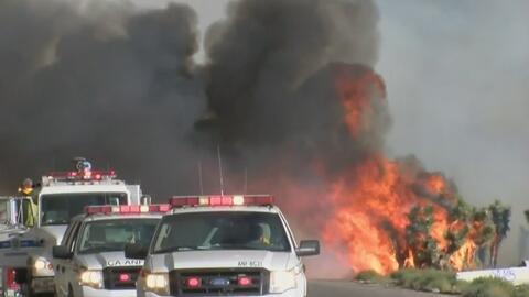 Bomberos se preparan ante la alta probabilidad de incendios forestales e...