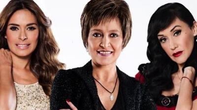 Galilea Montijo, Daniela Romo y Susana Zabaleta.