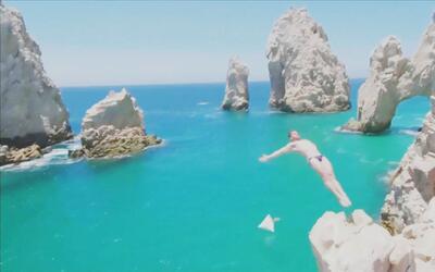 Los acantilados de Baja California, el escenario para los mejores clavad...