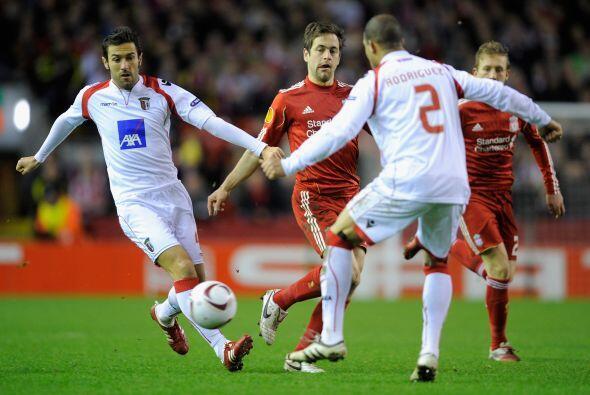 El Liverpool se jugaba su futuro ante el Braga.