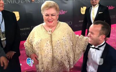 Carlitos el Productor se pudo encontrar con su novia Paquita la del Barr...