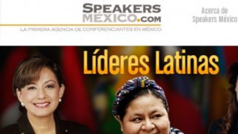 Imagen del sitio web Speakersmexico.com.