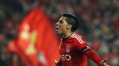 El argentino llega proveniente del Benfica.
