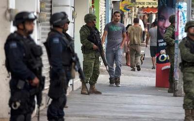 Fuerza militar fue reforzada en Michoacán