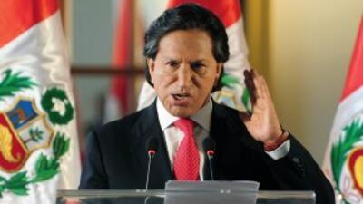 El ex presidente Alejandro Toledo expresó abiertamente su apoyo al candi...