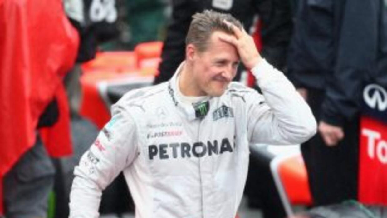 Revelan que el impacto de la cabeza de Schumacher contra una roca fue ta...