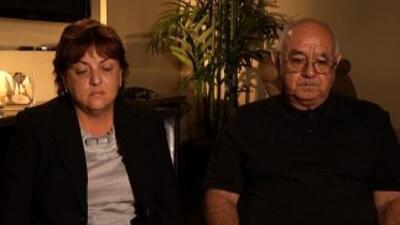 Los padres del agente Jaime Zapata hablaron con 'Aquí y Ahora'.