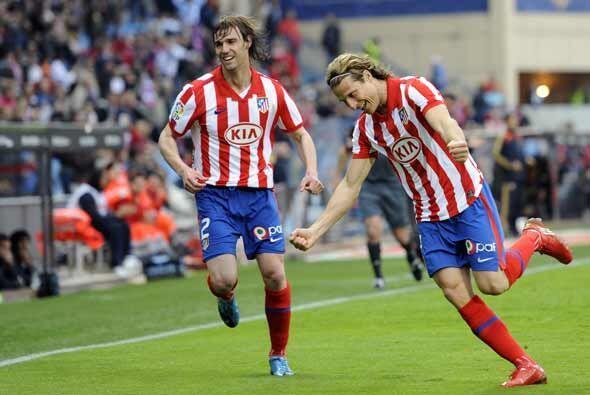 Los 'colchoneros' iniciaron perdiendo pero Diego Forlán consigui&...