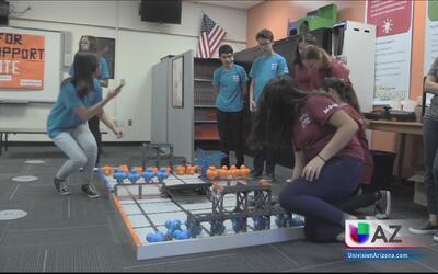 Estudiantes de Glendale asistirán a una competencia mundial de robótica...