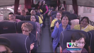 Mujeres de Arizona hicieron de todo para ir a ver al Papa a México