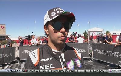 Esteban Gutiérrez y Sergio Pérez hablan previo al Gran Premio de Austin