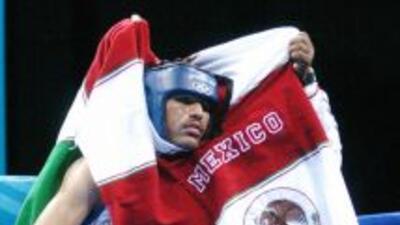 Alfredo Angulo en su etapa de amateur.