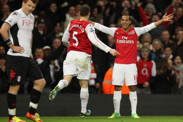 Arsenal dejó pasar una buena chance de estar arriba.