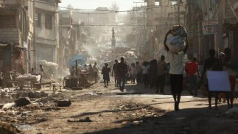 El año comenzó con el terremoto en Haití.