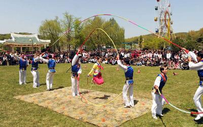 Sin protestas, solo juegos: así celebra Corea del Norte el 1 de mayo