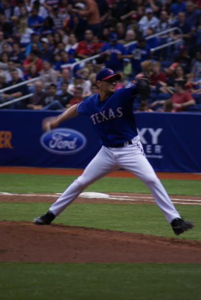 Se enfrentaron los Texas Rangers.