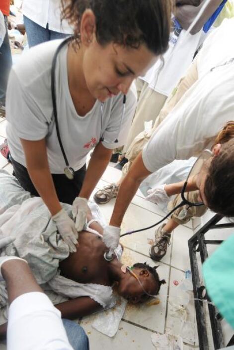 """""""Hay más de 2.4 millones de personas en Puerto Príncipe y las condicione..."""