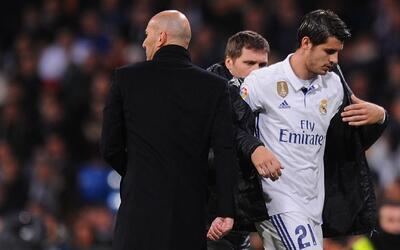 """Zidane minimizó el desplante de Morata: """"No estaba enfadado conmigo sino..."""