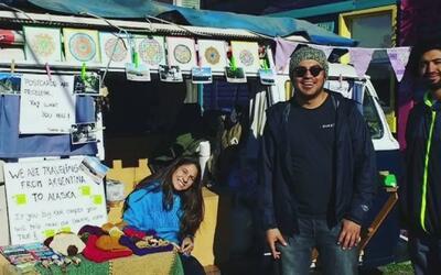 Sueño viajero: una pareja salió de Argentina con el objetivo de llegar a...