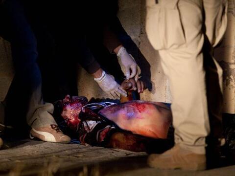 El número de muertos en hechos de violencia relacionados con el n...